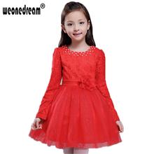 Dress christmas dress for girl purple red white wedding princess dress