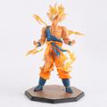 Anime Dragon Ball Super Saiyan Son Goku PVC F ZERO Action Figure Toys PVC 18cm