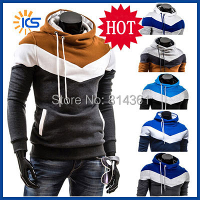 2015 New Stylish Men's Tracksuits Hoody Pullover Sports Suit Men Fleece Hoodies Jackets Hip Hop Mens Sweatshirt chandal hombre - Yiwu KingSun Fashion Apparel Co.,Ltd store