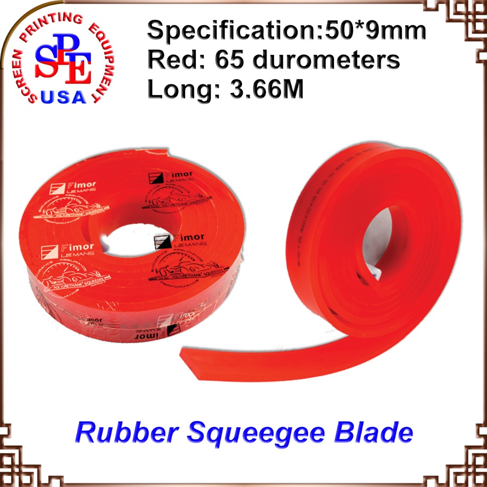 red color 3.66 M france FIMA rubber squeegee screen printing screen press(China (Mainland))