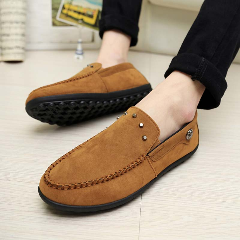 Spring breathable mens the trend male Moccasins dawdler shoes fashion casual shoes sailing shoes<br><br>Aliexpress