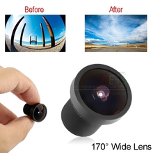 New arrival 170 Degree Replaceable Wide Angle Lens for GoPro HD HERO / HERO 2 Replace Lens M12 Lens, Freeshipping(China (Mainland))