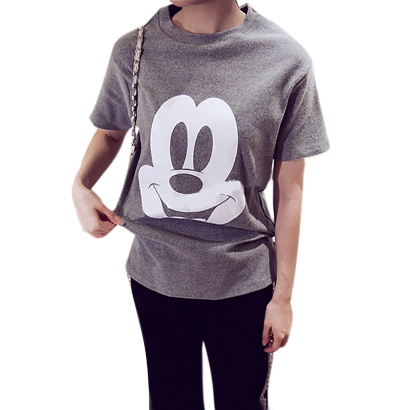 2015 summer style arctic cartoon shirt cute mikey mouse t shirt Britney Baby Tee shirts Tshirts vestiti donna roupas sweatshirt(China (Mainland))
