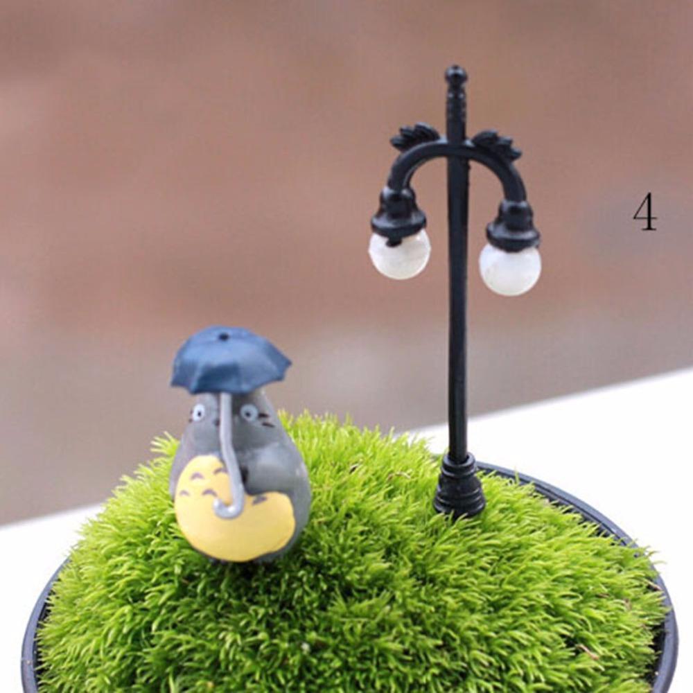 3 Pcs Random Street Lamp Ornaments Garden Decoration Jardin Ornaments Men Made 2015 New Garden Jardin(China (Mainland))