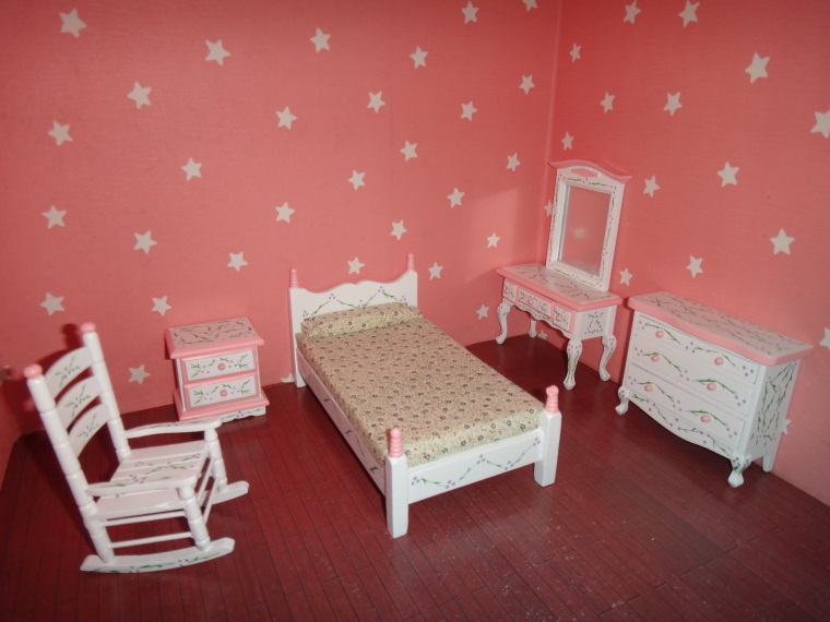 How to make a doll bedroom 28 images simple american for Bedroom accessory furniture