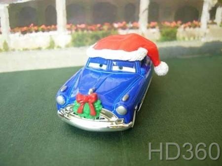 Pixar Cars 2 Toys CHRISTMAS DOC HUDSON