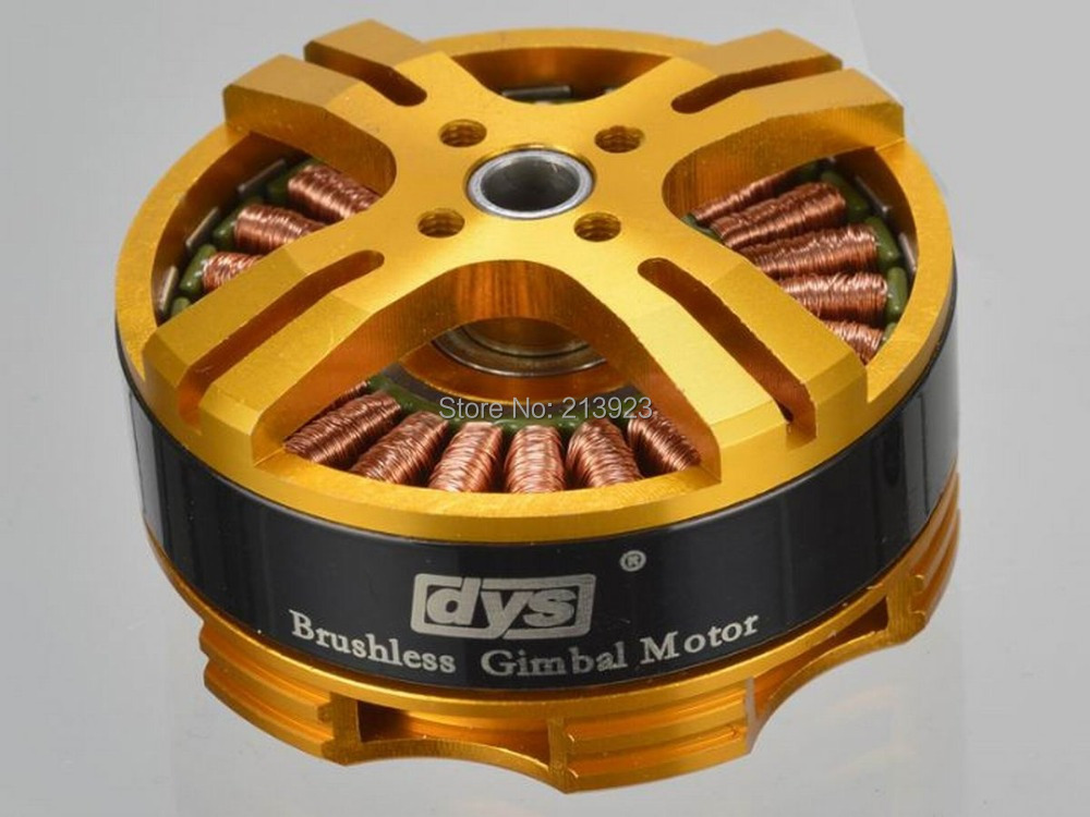 Official DYS 4108 Hollow shaft Brushless Gimbal Motor BGM4108-130T,Sony NEX ILDC Camera Mount
