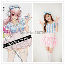 Girls Super Sonico Cosplay