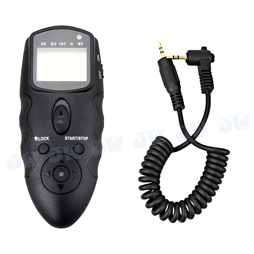 JJC Wireless MultiExposure LCD Timer Remote Control For Canon EOS T5i T4i T3i T3 T2i 70D 100D 700D 60Da 650D 600D 1100D 550D 60D(China (Mainland))