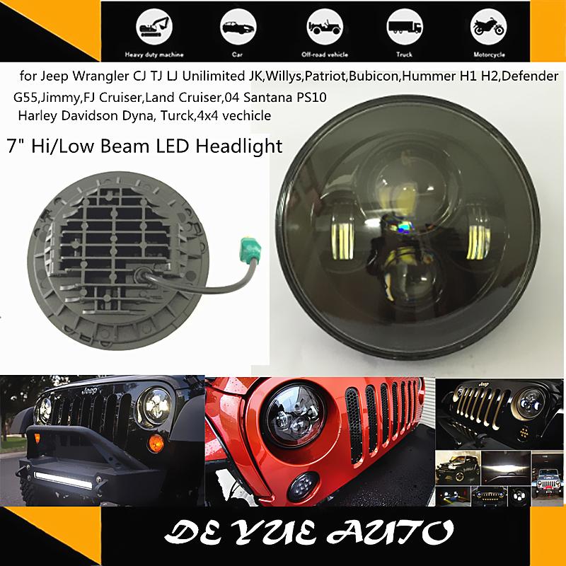 Hotsale Superior Quality Custom Made Wholesale Energy Saving Bulb 45W 7 inch LED headlight workling driving lamp truck led light(China (Mainland))