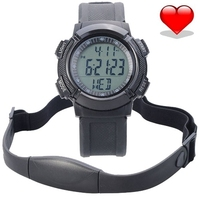 2015 New Brand Relogio Masculino Led Digital Sport Military WristWatches Men Healthy Living Heart Rate Monitor Pedometer Watches