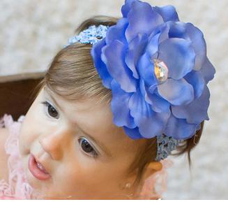 2016 рождество младенца повязка на голову цветок ленты для волос девушки аксессуары ...