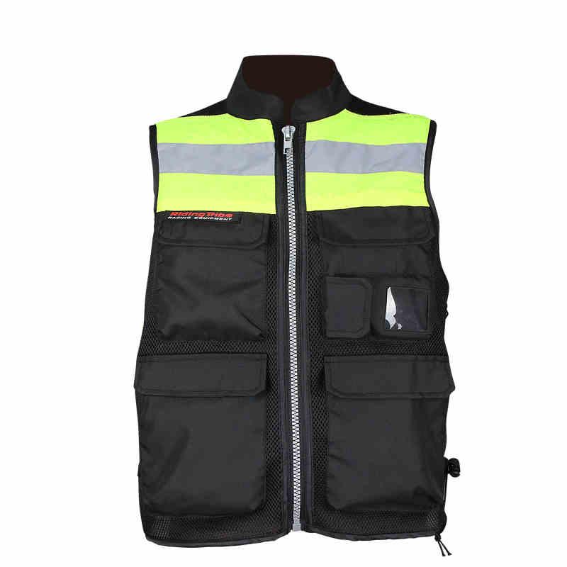 Мотоцикл жилет сетки гонки людей , куртка велосипед высокой видны отражающей аварийный жилет с задней защиты ml XL XXL XXXL