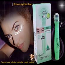 2016 women snail hyaluronic acid moisturizing anti-wrinkle moist eye cream ball 15ml S206(China (Mainland))
