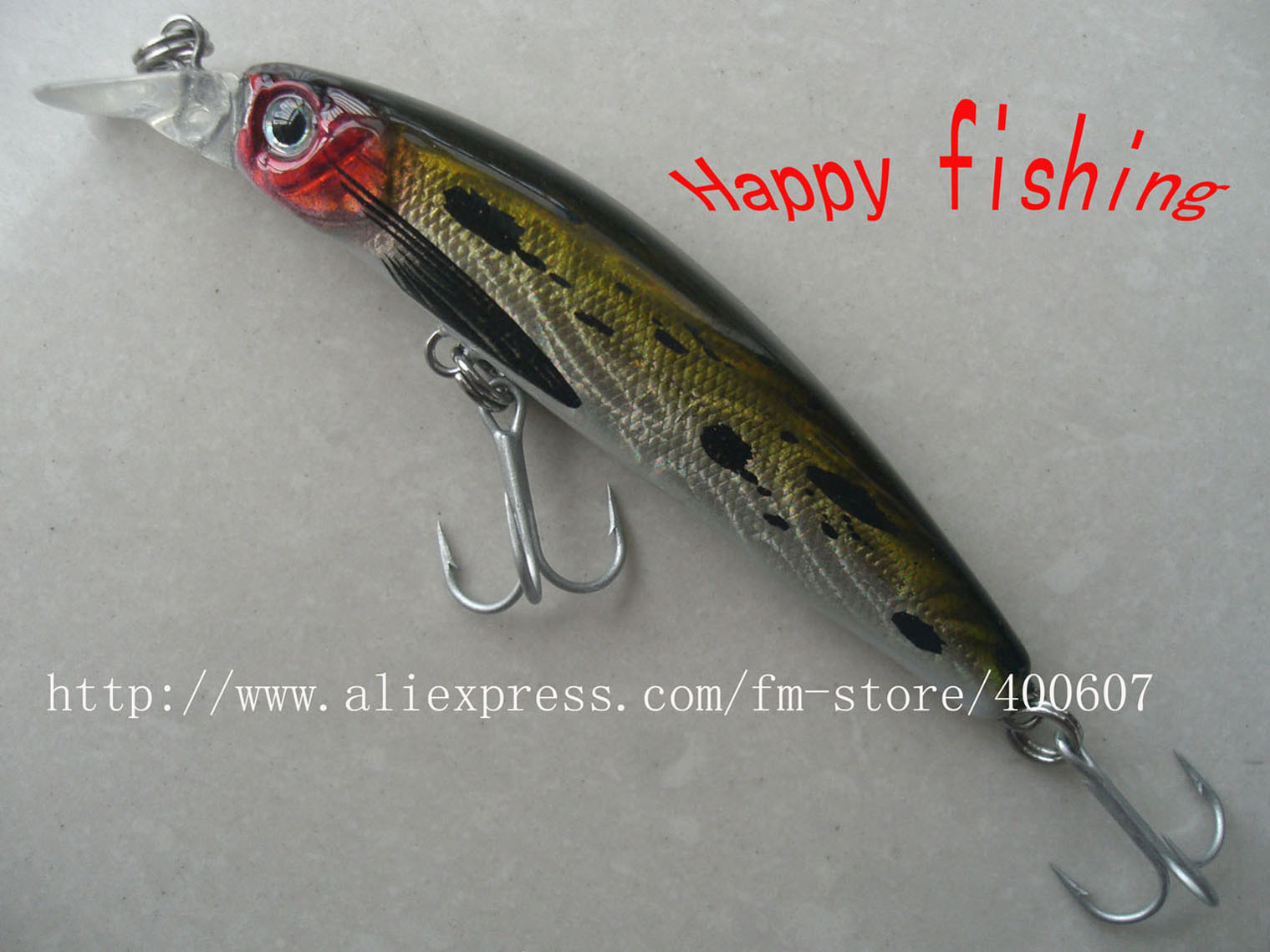 Japanese style bass terminator minnow fishing lure plastic for Japanese fishing lures