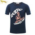 EA 2016 Summer Style skateboard surf Sport t shirt men brand Cotton Men short sleeve hip