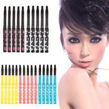 D1U# 5pcs Portable Retractable Lip Brush Eyeliner Brush Makeup Cosmetic Lipstick Brush Free Shipping