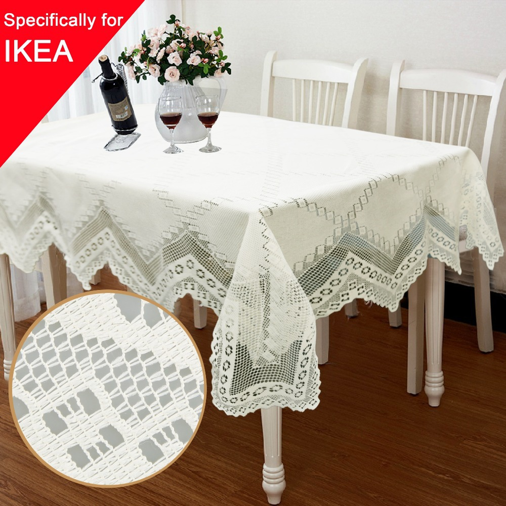 1pcs/lot Tablecloth Lace Table Cloth Knitted Vintage Dining Table Cover Knitting Hollow Out 5 Sizes Banquet Kitchen Wedding(China (Mainland))
