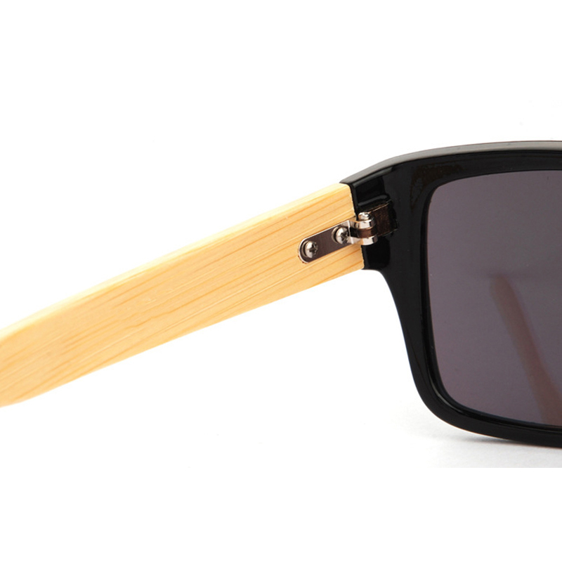 2015 New Bamboo Sunglasses Men Wooden Sun glasses Women Brand Designer Mirror Original Wood Glasses Oculos
