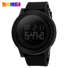 2016 New Brand SKMEI Watch Men Military Sports Watches Fashion Silicone Waterproof LED Digital Watch For Men Clock digital-watch(China (Mainland))