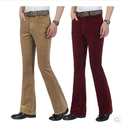 Men's Aeropostale Vintage Boot Cut brown corduroy chino pants size 34X32 - nwt These pants are nice. They have a button and zipper closure.