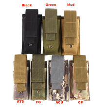 High Quality Outdoor Hiking Camping Molle Tactical Gadget Pocket Dump Pouch Flashlight Bag Small Mini Belt Pack Interphone Case(China (Mainland))
