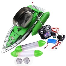 EU Plug Remote Control Toys RC boat 8 Hour RC Bait Fishing Adventure Boat 300m Remote Fish Finder Lure Boat(China (Mainland))