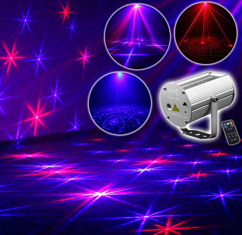 Christmas 12 Patterns RB LED Professional DJ Light Party Culb Disco Bar Wedding Birthday Laser Projector Downlights Lighting(China (Mainland))