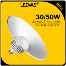 New Led High Bay 50W Lamps Super Bright  3000LM AC85-265V Industrial High Bay Lights  E27 High Power  LED bulb  LEDVAS(China (Mainland))