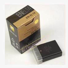 EN-EL14 ENEL14 Rechargereable camera battery pack for Nikon D5100 D3100 P7100 P7000 P7700 D3200 D5200 MH-24
