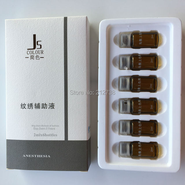 Бесплатная доставка высокое качество 6 / box полноцветный иммуноадъювантом эффект ...