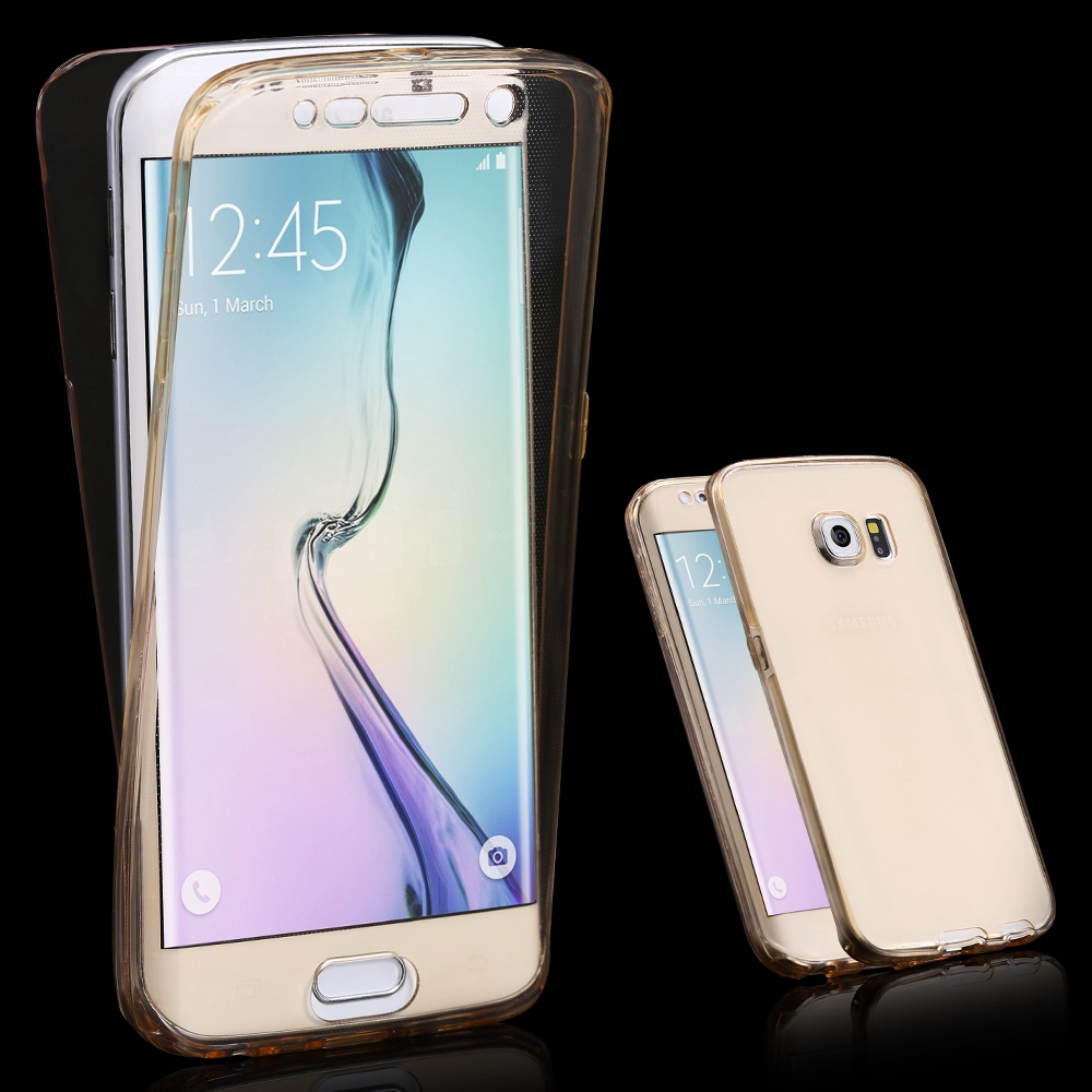S6 Edge Funny Rabbit Hair Skin Hard Case For Samsung Galaxy Plus Protection Transparent Full Coverage