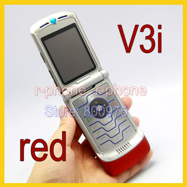 Refurbished Unlocked Original Motorola RAZR V3i Mobile Cell Phone Wholesale Retail(China (Mainland))