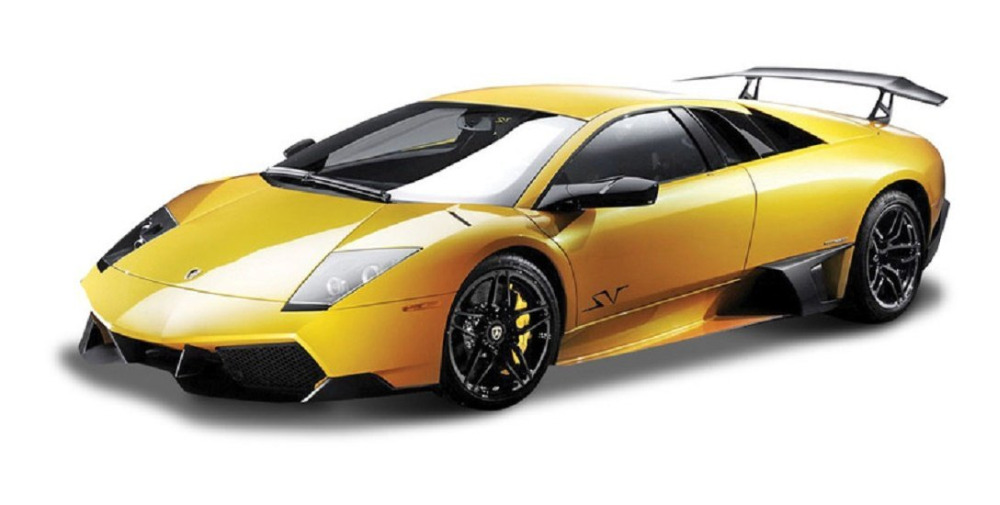 Maisto Bburago 1:24 Murcielago LP 670-4 SV Diecast Model Car Toy New In Box Free Shipping(China (Mainland))