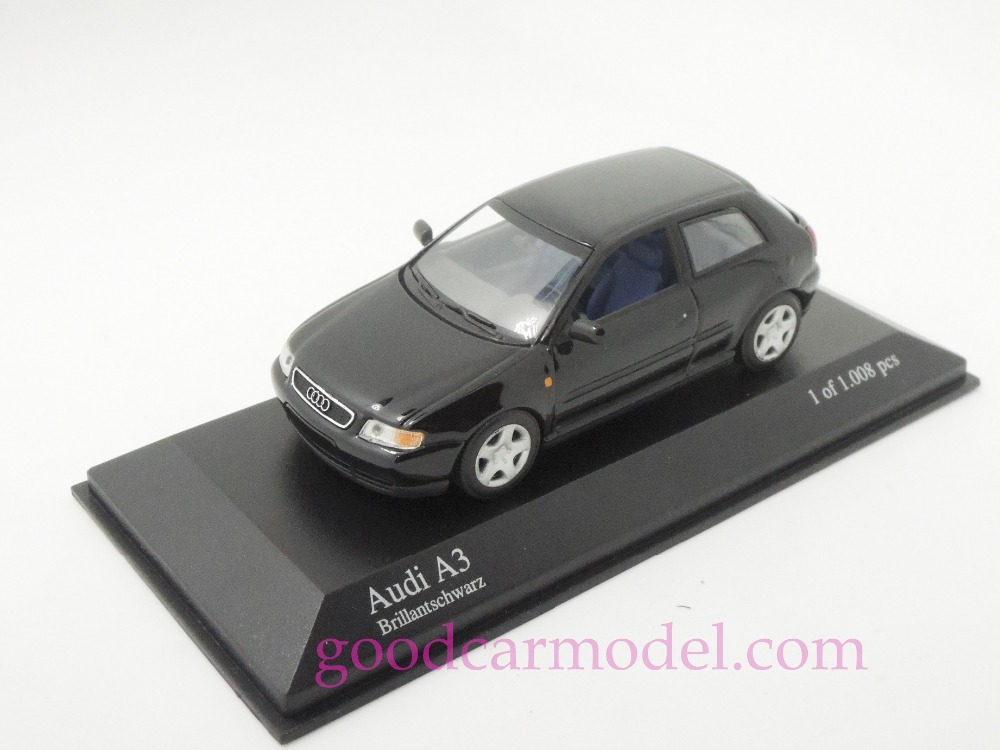 New Minichamps 1:43 Car Model Audi A3 1996 430015104 Free Shipping From HK(China (Mainland))
