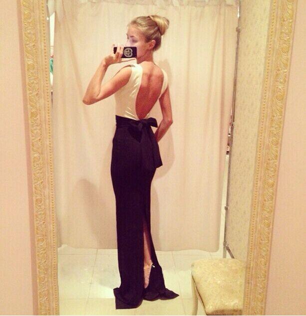 2015 New Fashion Women Patchwork Backless Dress Women Luxury Wedding Party Dress Sexy Clubwear Lady Sleeveless