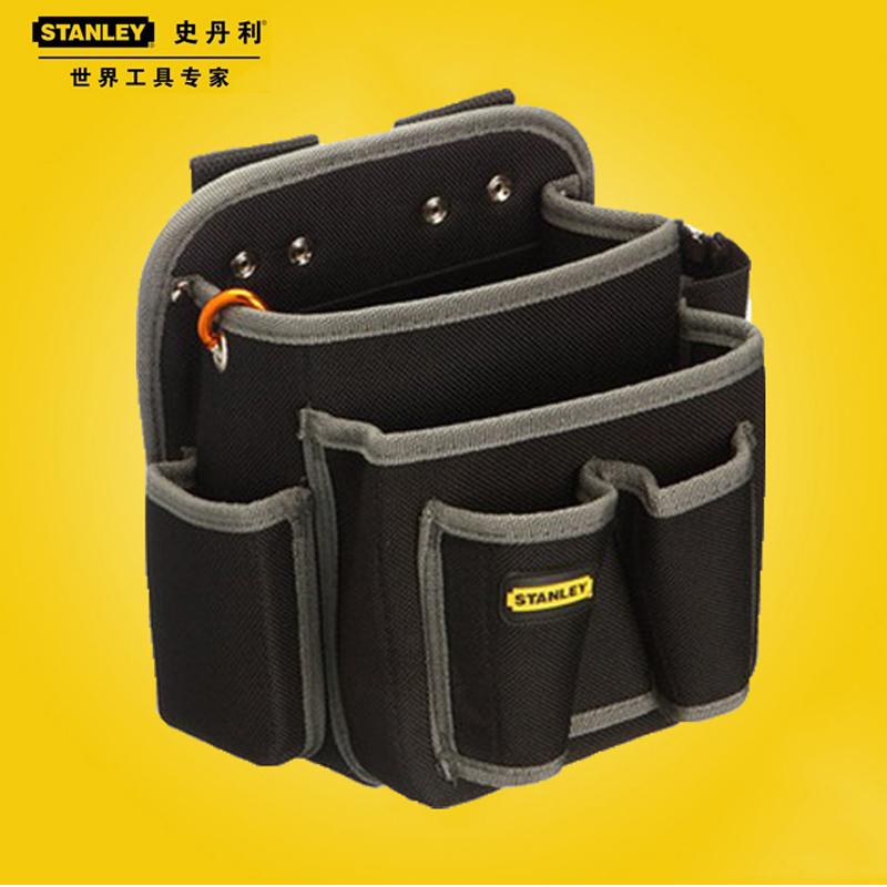 Brand Stanley 5 Pocket Tool Bag Electrician Tool Pouch Holder With Belt Loop 96-254-23(China (Mainland))