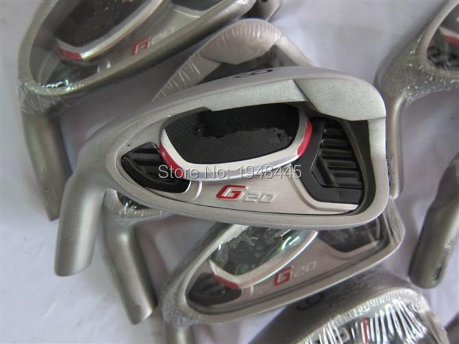 Left Hand G20 Irons G20 Golf Irons OEM G20 Golf Clubs 3-9SW Regular/Stiff Flex Graphite Shaft With Head Cover(China (Mainland))