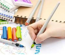 2015New прибытия высокое качество зебра параллельный ручка специальное слово английский каллиграфия авторучка четыре цвета бесплатная доставка
