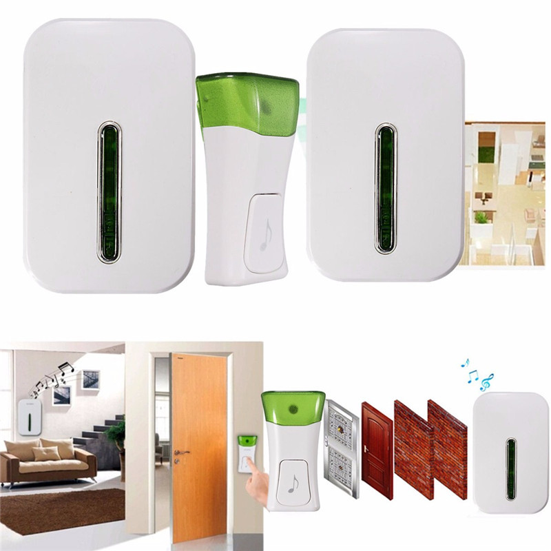 High Quality Wireless Double Smart Home Door Bell System Plug In Chime 120m Range 36 Melodies Best Price Newest<br><br>Aliexpress