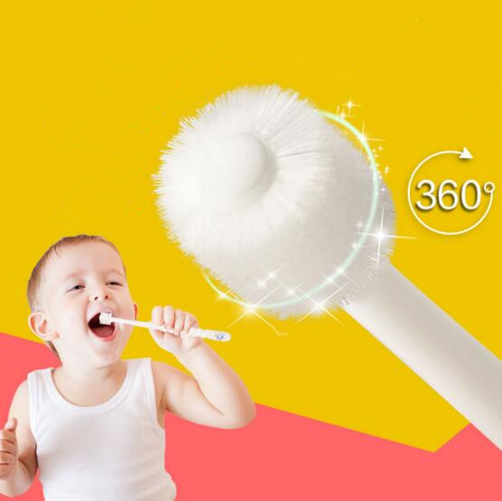 360 Toothbrush Baby Buddy New 1Pcs Soft Safe Teether Teething Teeth Kids Silicone Gum Brush Clear Cleaner