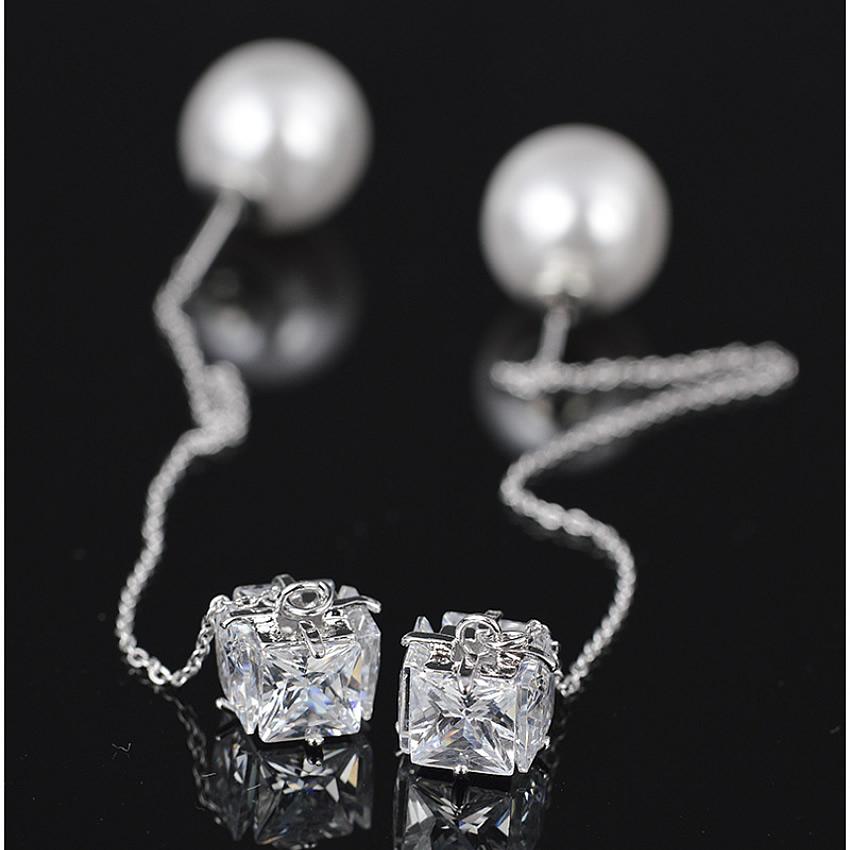 summer fine jewelry gold plated Dangle Earring Elegant Large crystal Long Design Tassel Earring hot fashion n ew earrings 2016(China (Mainland))