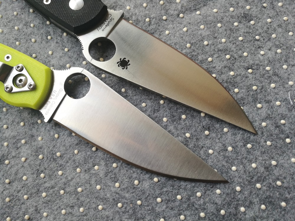 Buy Low price promotion High quality C36 Folding Knife S30V G10 Handle Camping Hunting Survival Knives Pocket Outdoor Tool OEM cheap