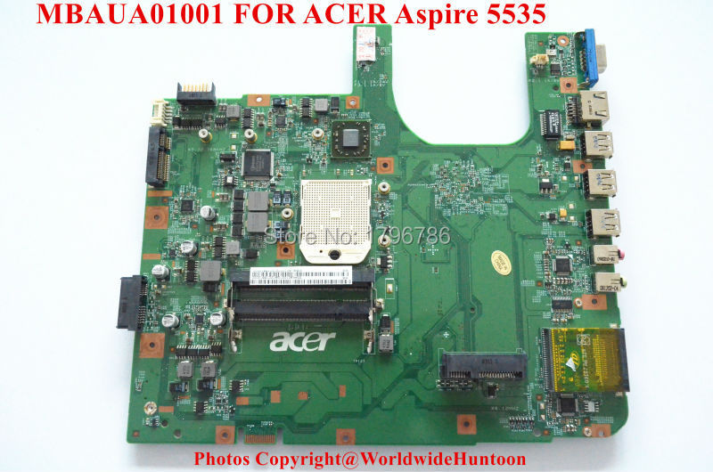 Original laptop motherboard for Acer Aspire 5535 MBAUA01001 motherboard 48.4K901.021 WITH AMD DDR2 Integrated fully test(China (Mainland))