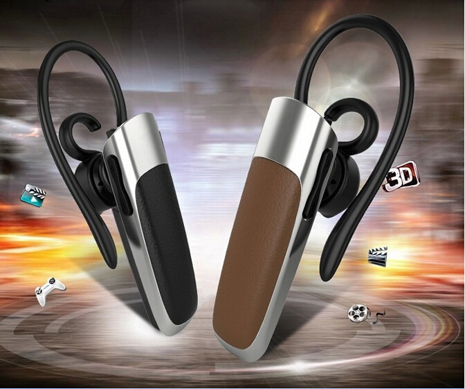 HOT!!! I9 Leather Mini Stereo Wireless Bluetooth CSR V4.0+EDR Earphone Headset For iPhone Samsung HTC Mobile Phone(China (Mainland))