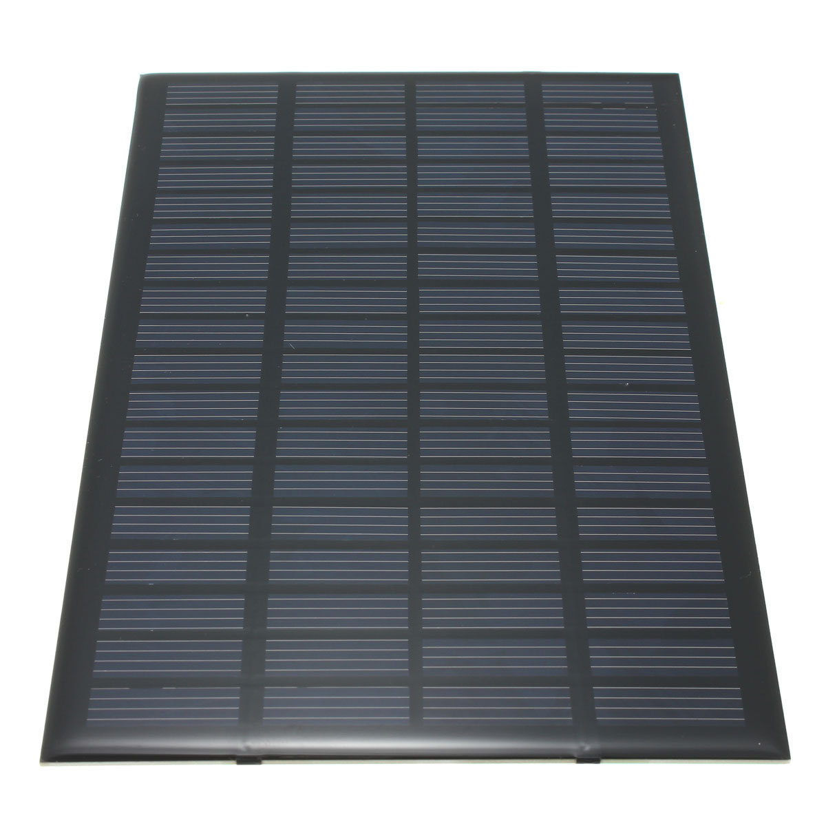 19.4x12x0.3cm High quality 18V 2.5W universal Polycrystalline Stored Energy Power Solar Panel Module System Solar Cells Charger(China (Mainland))