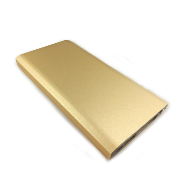 Smart Ultrathin Metal 12000mAh Portable Power Bank / External Battery charger for iphone for Universal Mobile Phone