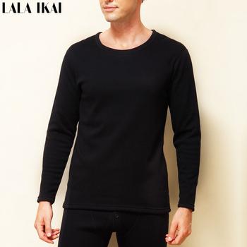 Твердые зима теплая комплект черный красный лонг джонс кашемир мужские Colthes толщиной качества хлопка бренд OUT217-5
