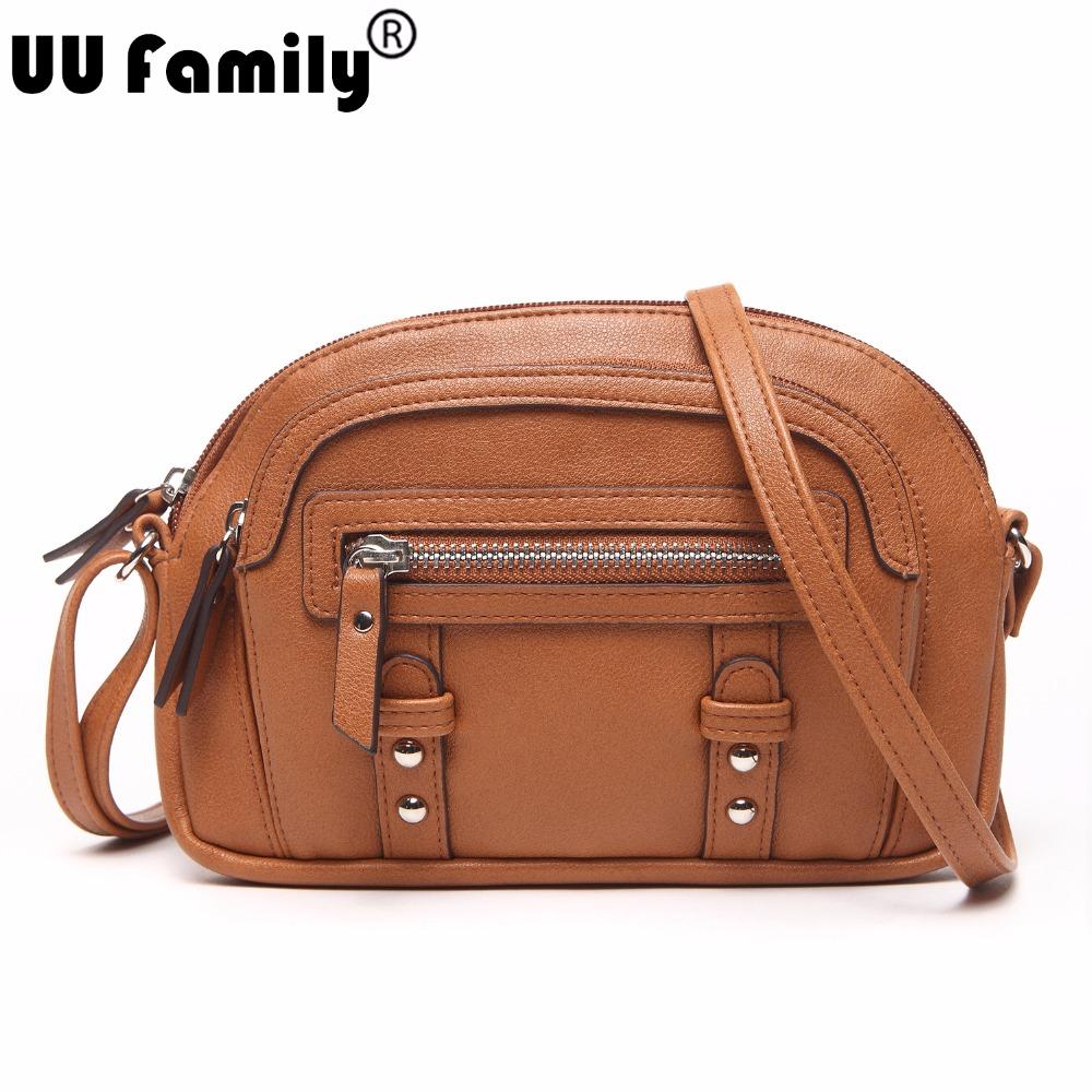 UU Family 2016 Summer Half-Moon Women Bag Panelled Bag Satchel Ladies Shoulder Hand Bag Crossbody Bag Women China Brand Handbags(China (Mainland))
