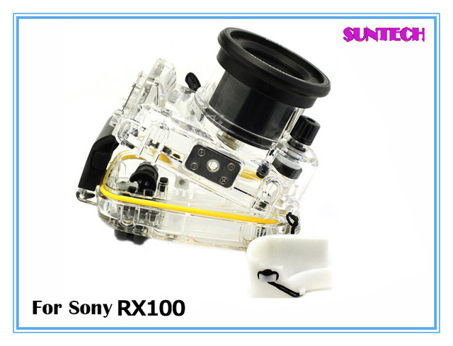 Free shipping Underwater 40M Waterproof Camera Case Diving Housing for Sony RX100